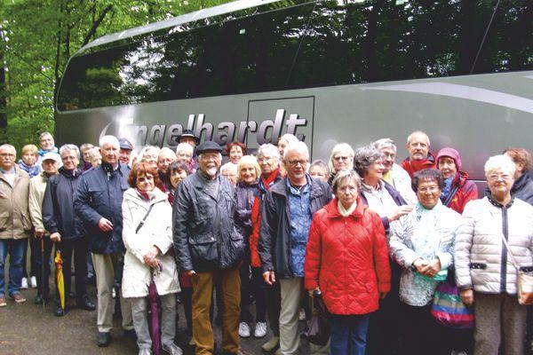 Busfahrt nach Bensheim